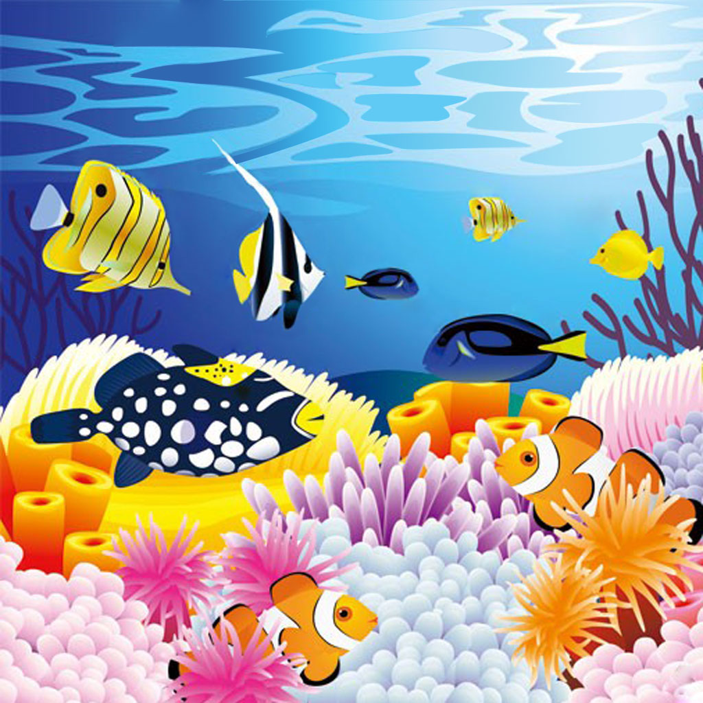 海洋鱼类翻翻乐